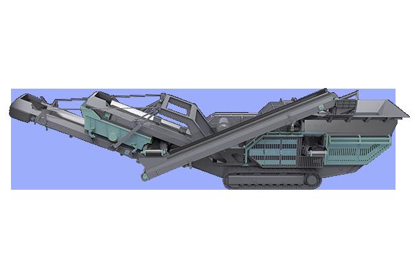 Planta móvil de trituradora de impacto sobre orugas Featured Image