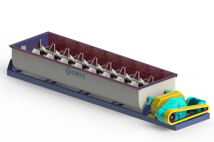Mezclador de doble ejes
