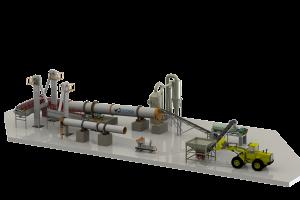 Planta de granulación de ultima tecnología