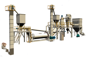 Línea de producción de MQX molino de bolas superfino