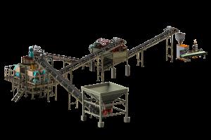 Planta de granulación de compresión